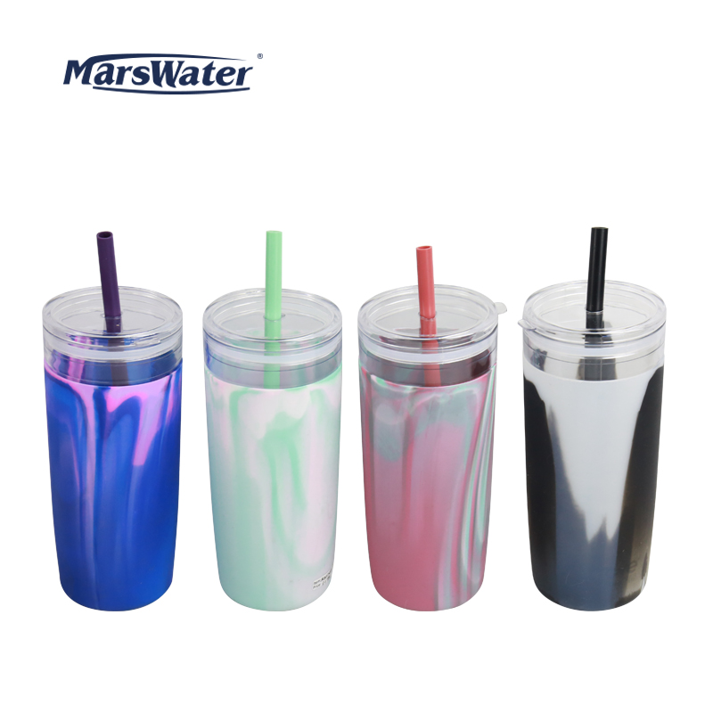 MW11081-1L DW AS DRINK BOTTLE WITH SILICONE SLEEVE